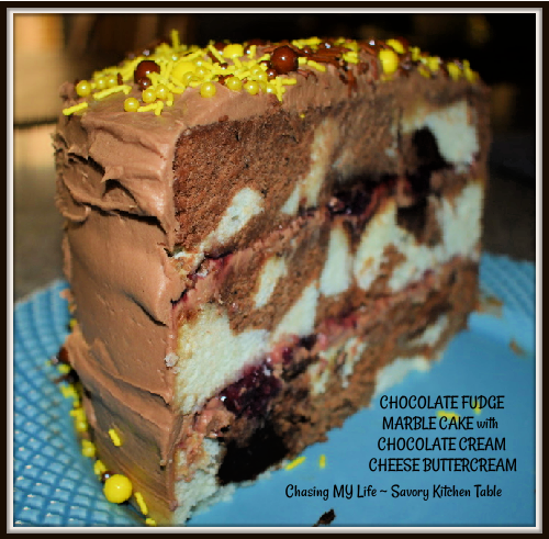 Chocolate Fudge Marble Cake The Perfect Celebration Cake Chasing My Life Wherever It Leads Me